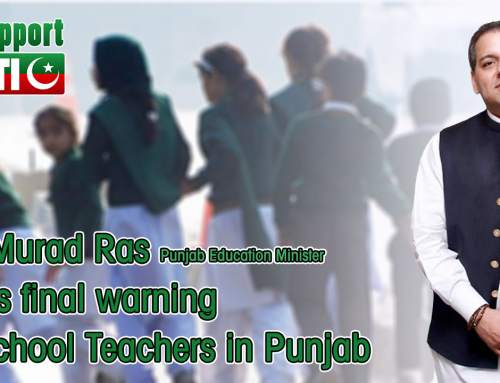 Dr. Murad Raas education minister Punjab issues final warning to school teachers