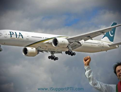 Imran Khan has the determination and commitment to turnaround Pakistan just like PIA