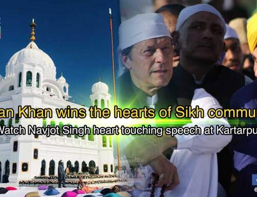 Imran Khan wins the hearts of Sikh community: Watch Navjot Singh heart touching speech at Kartarpur
