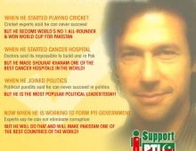 Imran Khan will bring the change he promise