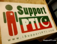 i Support PTI Stickers