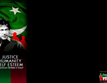 Imran Khan PTI Twitter Background