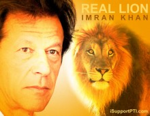 Real Lion Imran Khan