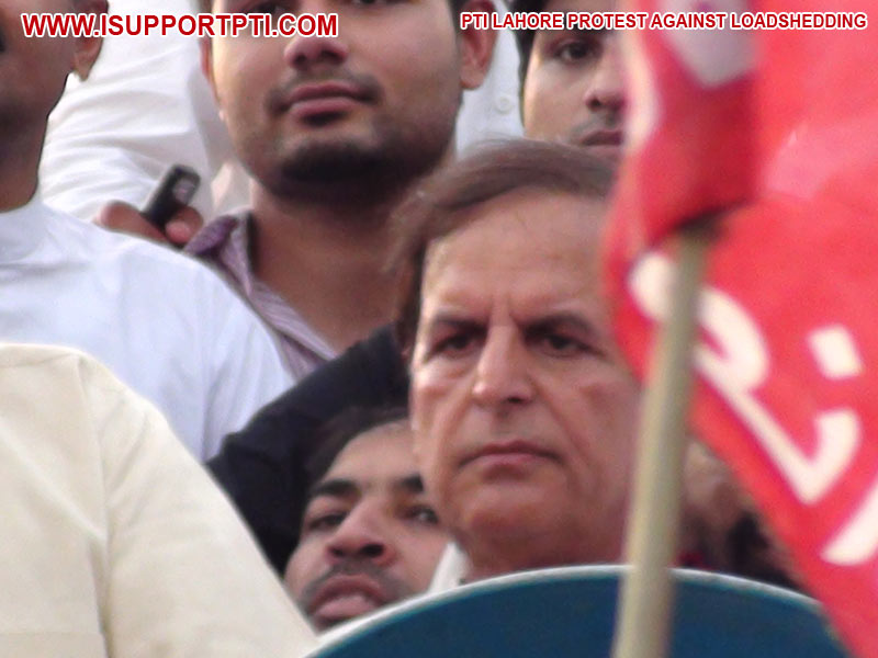 PTI protest against load shedding in Lahore