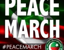 Twitter DP Peace March