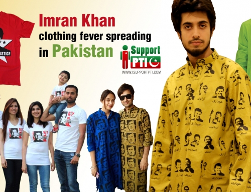 Imran Khan clothing fever spreading in Pakistan