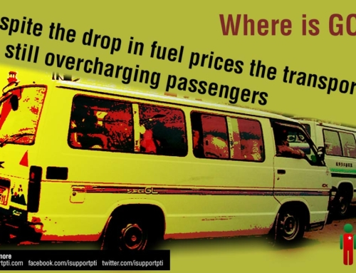 Despite the drop in fuel prices the transporters are still overcharging passengers