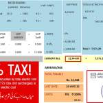 TAX Calculation Fraud in Electricity Bills