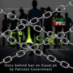 Story behind ban on Siasat.pk by Pakistan Government