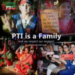 PTI Family respects its Women and will protect them
