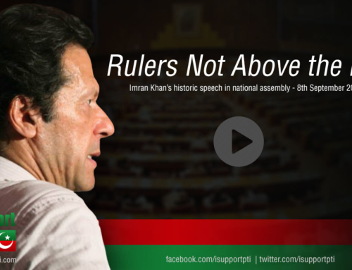 Rulers not above the law, says Imran Khan in National Assembly Pakistan