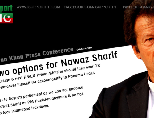 Imran Khan gives two options to Nawaz Sharif