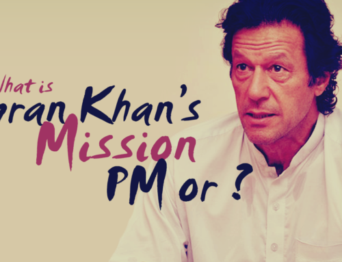 What is actually Imran Khan's Mission