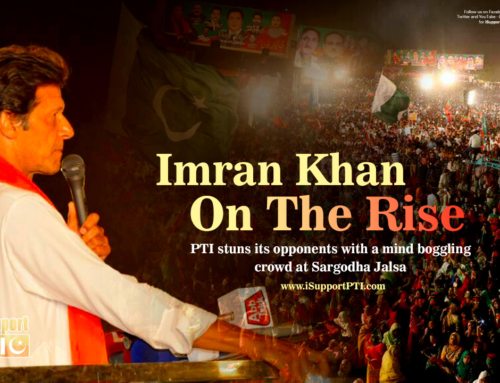Imran Khan on the Rise