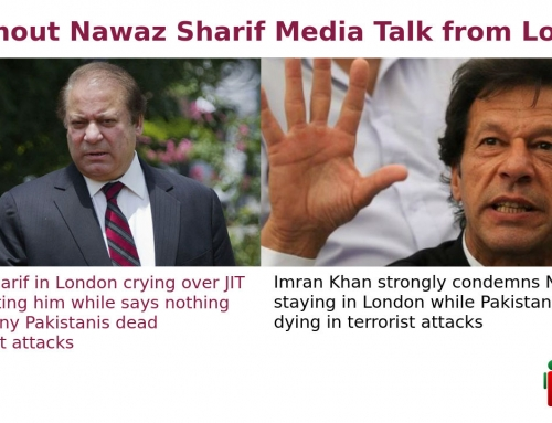 Nawaz Sharif media talk from London, crying over JIT investigating him