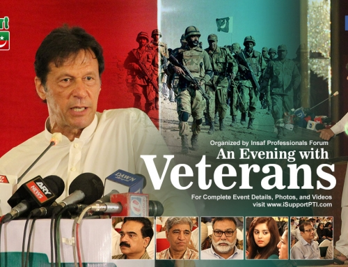 An evening with veterans – Imran Khan discussing national issues with Pakistan army veterans
