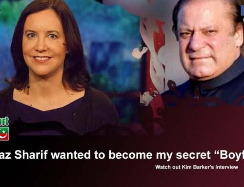 Nawaz Sharif wanted to become my secret boyfriend – says Kim Barker