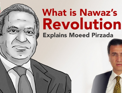 What is Nawaz Sharif's Revolution? Explains Moeed Pirzada