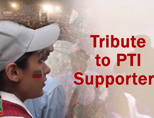 Tribute to PTI Supporters