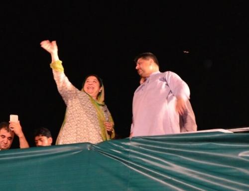 Dr. Yasmin Rashid PTI NA120 Candidate Complete Speech Qartaba Chowk