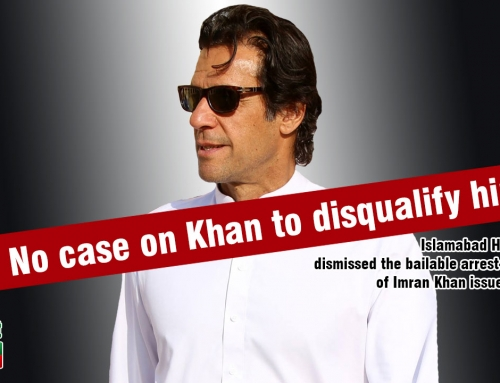 No case on Khan to disqualify him