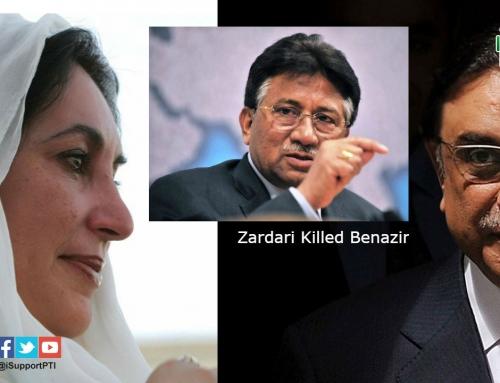 Zardari planned Benazir's Murder – says Musharraf