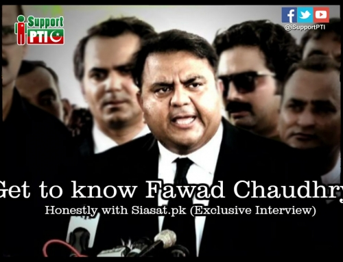 Get to know Fawad Ch. more in honestly with Siasat.pk