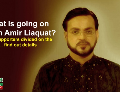 What is going on with Amir Liaquat? Is he joining PTI or Not?