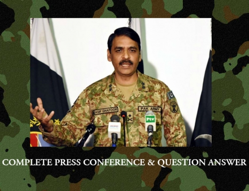 DG ISPR Complete press conference, answers critical questions