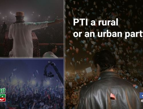 Now what the opponents will call PTI? A rural or an urban party?