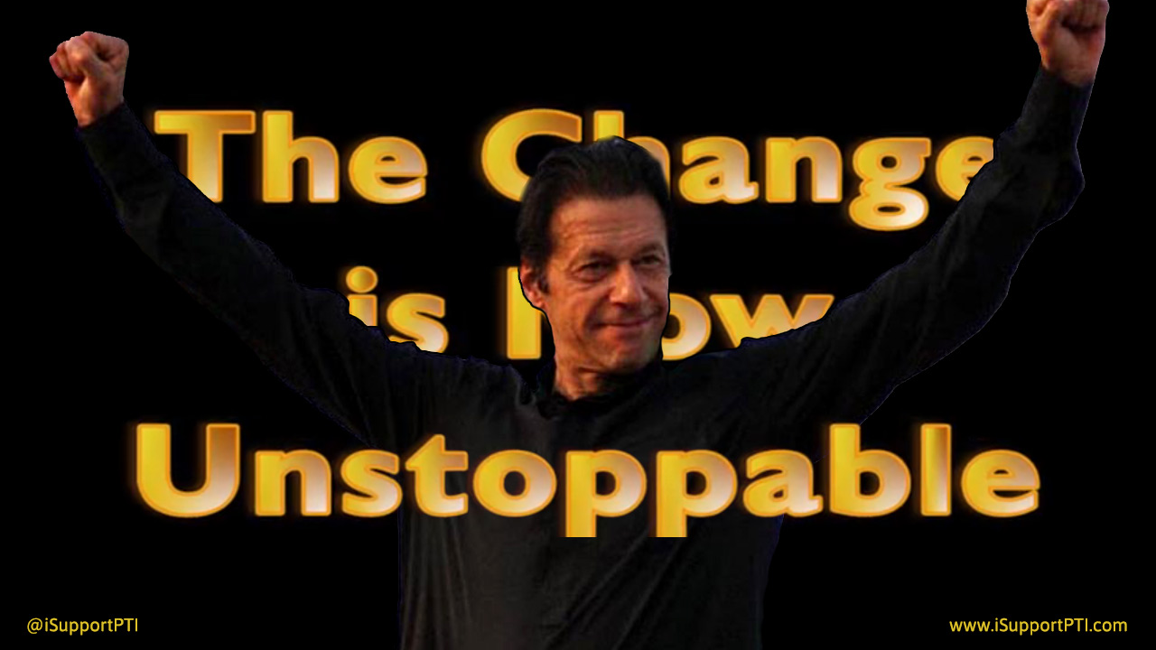 The Change is Now Unstoppable