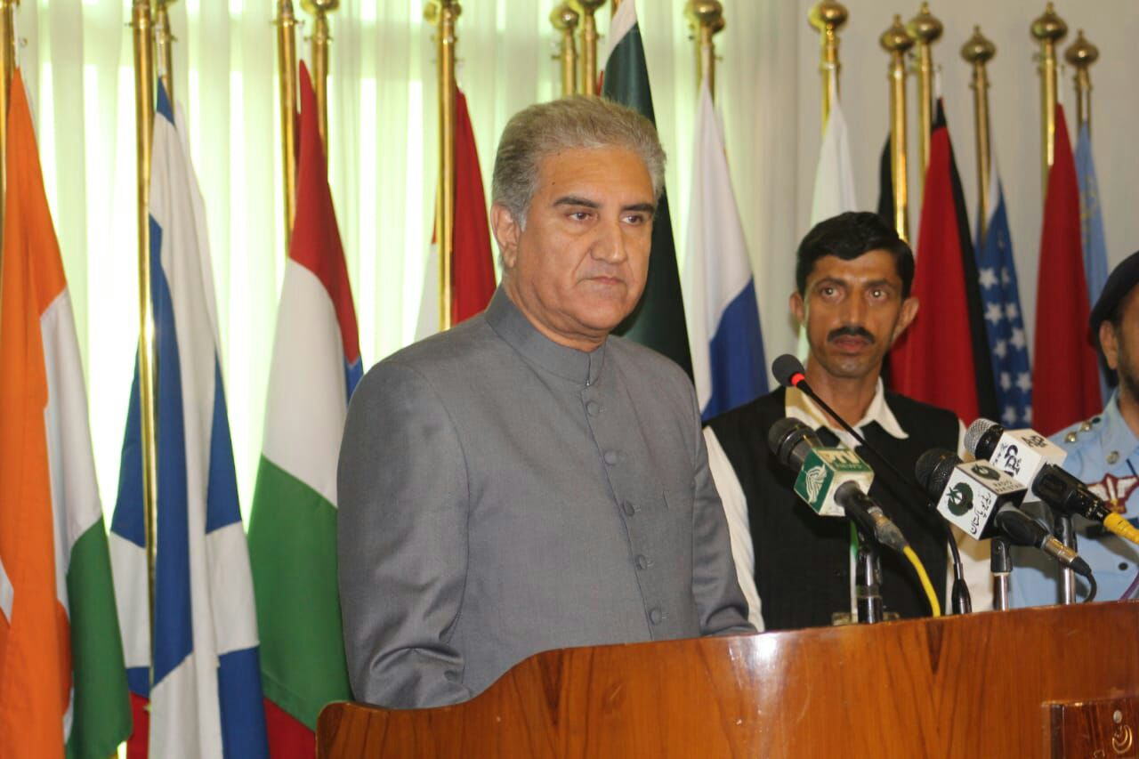 Pakistan First – PTI Foreign Affairs Minister Shah Mahmood Qureshi's First Press Conference in Islamabad