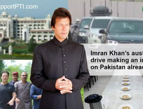 عمران خان کے وزیرا عظم بننے کے ثمرات نظر آنا شروع ہو گئے